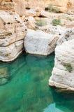 Teich in einem Tal Lizenzfreie Stockfotos