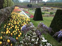 Teich-Garten, Hampton Court Surrey, England Stockfotos