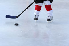 Teich-Hockey Stockbilder