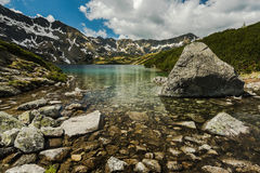 Teich im fünf See-Tal Stockbilder
