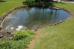 Teich im Park Lizenzfreie Stockbilder