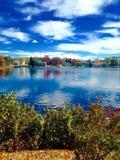 Teich in Maine Lizenzfreie Stockfotos
