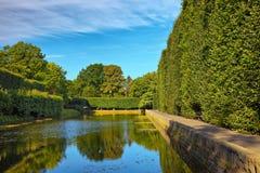 Teich in Oliwa Lizenzfreies Stockfoto