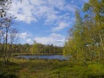 Teich in verankern Lizenzfreie Stockfotografie