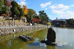 Teich von Nara lizenzfreie stockfotografie