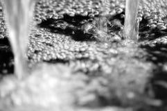 Teichblasen des Wassers Stockfoto