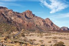 Teide国家公园。 特内里费岛。 加那利群岛 免版税库存图片