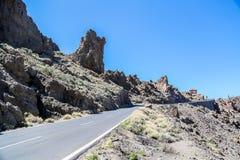 Teide国家公园在西班牙 免版税库存照片