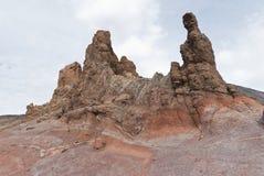 Teide国家公园,特内里费岛,加那利群岛,西班牙 图库摄影
