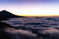 Teide国家公园, Tenerife,加那利群岛,西班牙 免版税库存图片