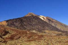 Teide在Tenerife,加那利群岛 图库摄影