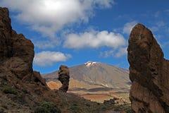 Teide вулкан Стоковая Фотография RF