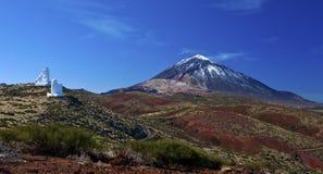 teide горы Стоковое Изображение