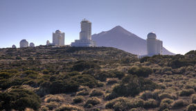 teide обсерватории Стоковые Фото