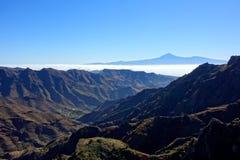Teide от Degollada de Peraza Стоковое фото RF