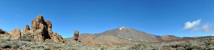 teide панорамы el Стоковые Фото