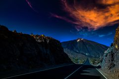 Teide fotografia stock