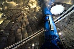 Teide天文学观测所的望远镜 免版税图库摄影