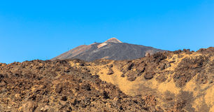 Teide Beyond Rocks Stock Images