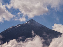 Teide Close-up Stock Images