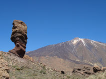 Teide de Roques de García Photos stock