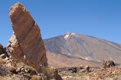 Teide del La Ruleta Foto de archivo libre de regalías