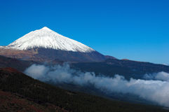 Teide del volcán Imágenes de archivo libres de regalías
