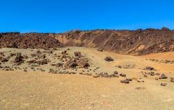 Teide Desert Royalty Free Stock Image