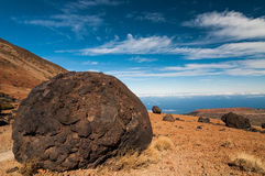 Teide egg Royalty Free Stock Images