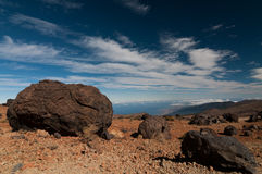 Teide eggs Royalty Free Stock Photos