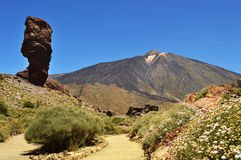 Teide el roque 1 Stock Photography
