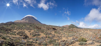Teide en parc national de Ténérife Photos stock