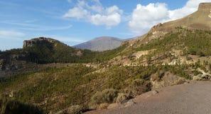 TEIDE. Highest mountain of spain the teide stock photos