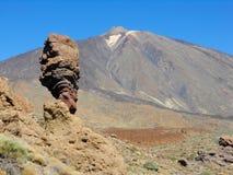 Teide il vulcano Fotografie Stock Libere da Diritti