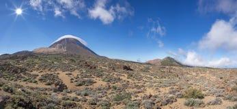 Teide im Nationalpark von Teneriffa Stockfotos