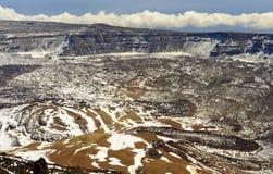 Teide krater Royaltyfria Foton