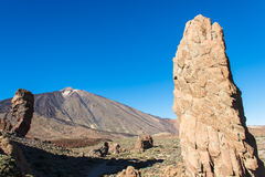 The Teide, Las Canadas, Tenerife, Spain Royalty Free Stock Image