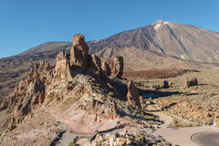 The Teide, Las Canadas, Tenerife, Spain Stock Image