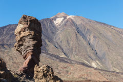 The Teide, Las Canadas, Tenerife, Spain Stock Images