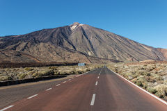 The Teide, Las Canadas, Tenerife, Spain Royalty Free Stock Photo