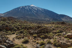 The Teide, Las Canadas, Tenerife, Spain Stock Photography