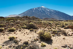 The Teide, Las Canadas, Tenerife, Spain Royalty Free Stock Images