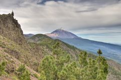 Teide Mount from Ayosa Royalty Free Stock Photography