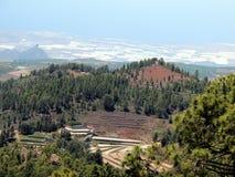 Teide nationaal park van Gr (Tenerife) Stock Afbeelding