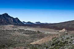Teide national park 2 Royalty Free Stock Photo