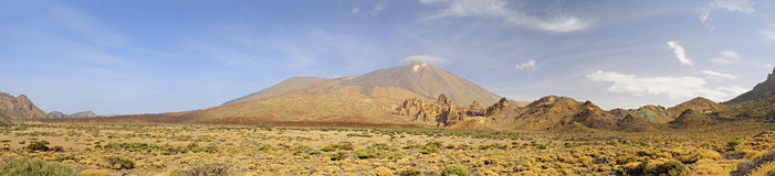 Teide national park Royalty Free Stock Photo