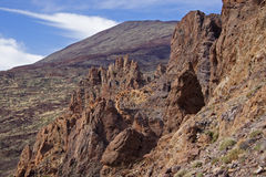 Teide National Park. Canary Islands, Tenerife, Teide National Park Stock Images