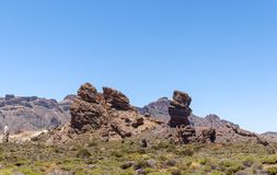 Teide National Park (Canadas del Teide) Royalty Free Stock Photos