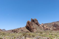 Teide National Park (Canadas del Teide) Royalty Free Stock Images