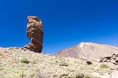 Teide National Park Roques de Garcia Teide Volcano Royalty Free Stock Photography